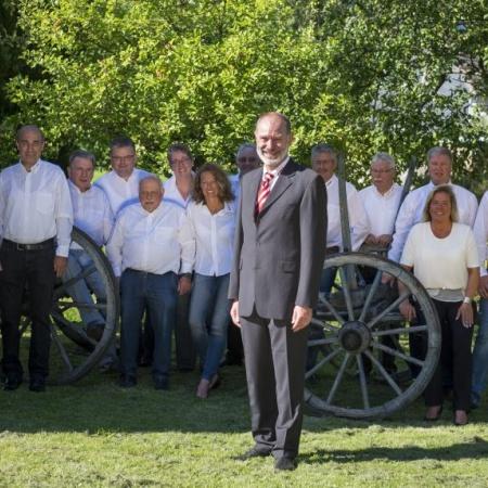 CDU Fraktion mit Bruno Glomski