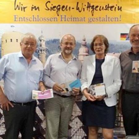Volkmar Klein MdB mit Bruno Glomski